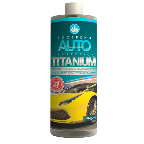 Limpa, protege e cristaliza a lataria do carro de forma rápida e prática